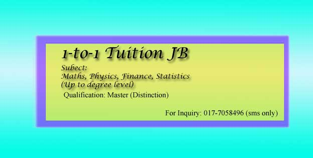 Home Tuition Cheras